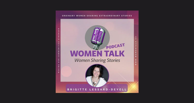 Helen on The Women Talk Podcast