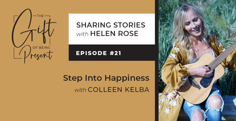 Step Into Happiness with Colleen Kelba